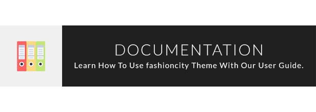 Fashion City Documentation